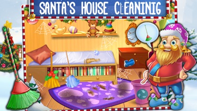 Crazy Santa's Xmas House Cleaning screenshot one