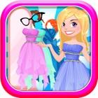 Principessa vestire parrucchiere e salone di gioch icon