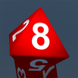 RPG D8 Role-Player Dice for iMessage