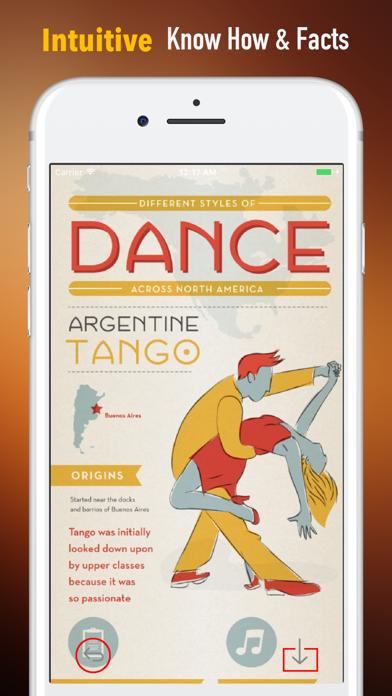 社交ダンスのチュートリアルのヒント-テクニックを学びますのおすすめ画像1