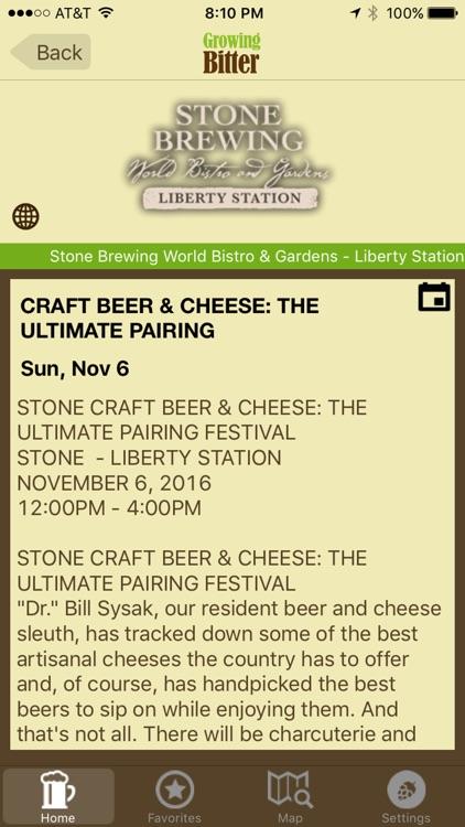 Growing Bitter - Craft Beer Map, Deals and Events screenshot-4