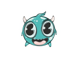 Cute Monsters is a collection of iMessage Stickers that show your new little friends in different moods
