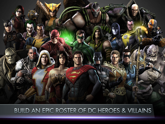 Injustice Gods Among Us Overview Apple App Store Us