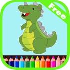 Dinossauros Coloring Book For Kids Jogo Livre icon