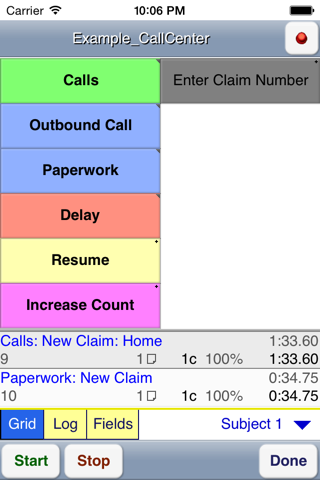 WorkStudy+ 6 for Time Study screenshot 2