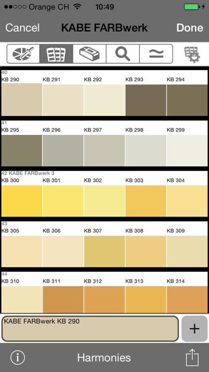 Le corbusier farben