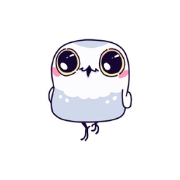 White Owl - Animated Stickers And Emoticons