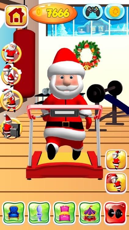 Talking Santa Claus Game screenshot-4
