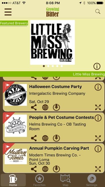 Growing Bitter - Craft Beer Map, Deals and Events screenshot-3