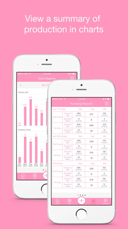 Pumping Tracker Pro - Breast Milk Pump Log for Mum
