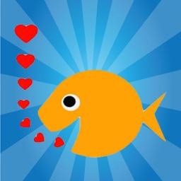 Cute Fish - Fc Sticker