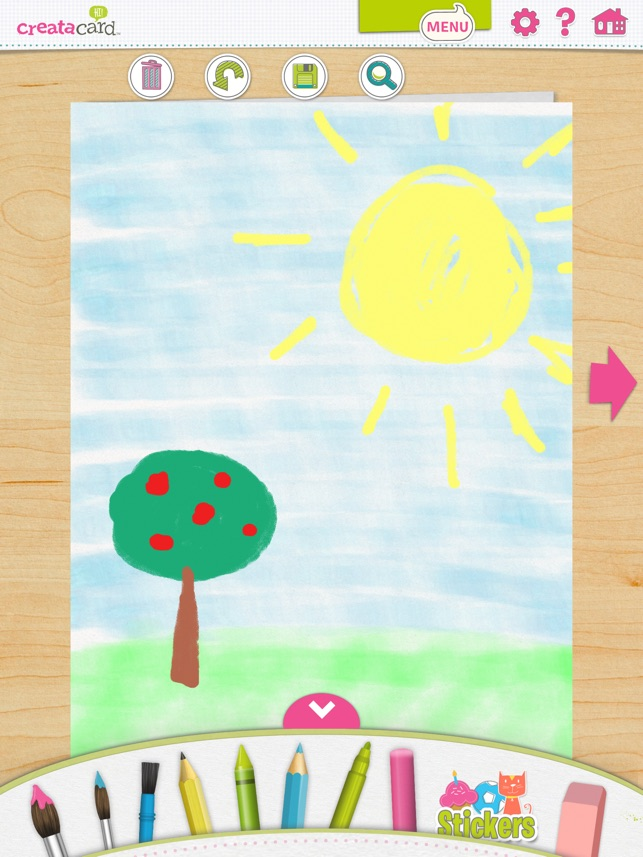 Creatacard card maker create and send birthday cards and more on ipad screenshots m4hsunfo