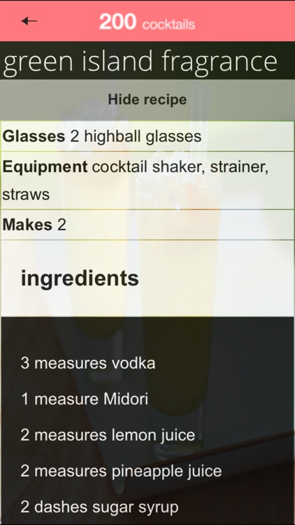 200 Cocktails from Hamlyn screenshot-3