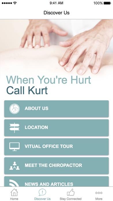 When you are hurt call Kurt screenshot two