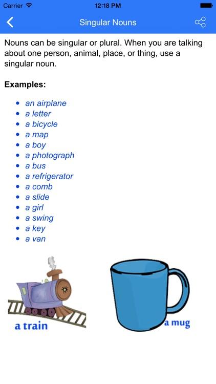 Kids English Grammar Pro screenshot-3