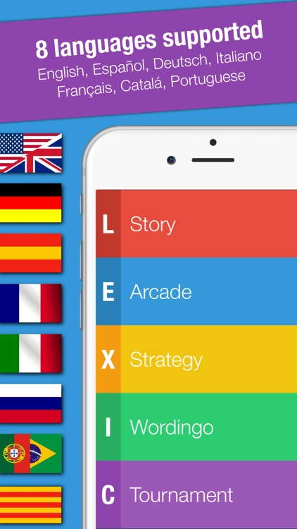 Lexic: new cool and awesome word and letters game screenshot-4