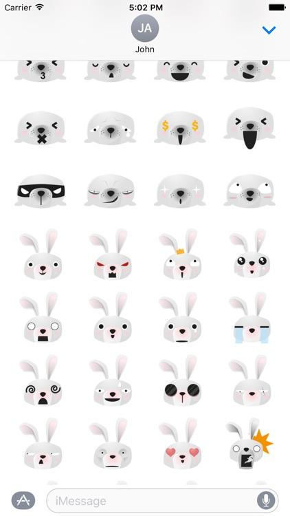 Cute Animal Emojis screenshot-3