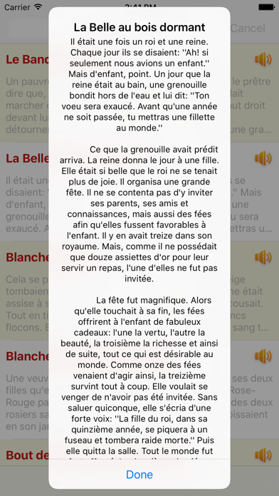 Contes de Grimm - 110 Audio Contes screenshot four