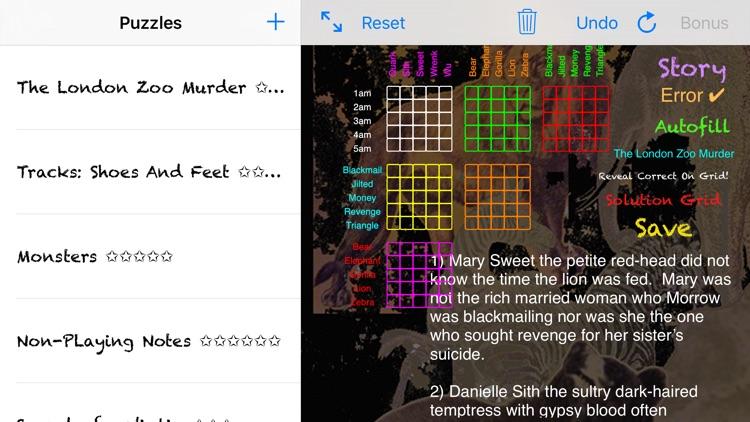 Sherlocks Logic Puzzles 3o screenshot-4