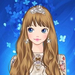 Luxury Princess Dress Up Fashion Girl Style