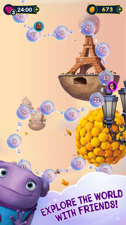 Home Boov Pop! Puzzle Adventure screenshot-3