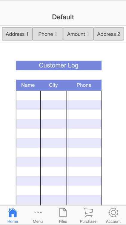 Customer Log screenshot-0