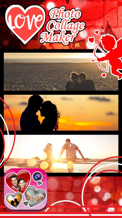 Love Photo Collage Maker: Cute Frames And Effects screenshot-4