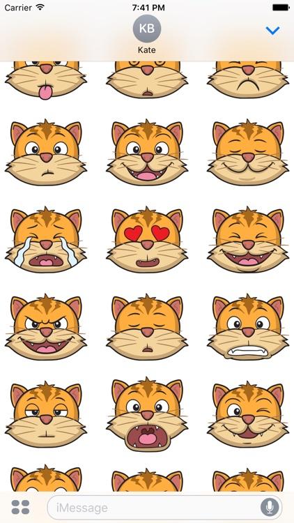 Cats Stickers - Cat Emoji