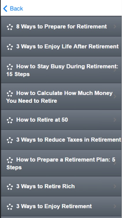 Retirement Planning - How to Plan for Retirement screenshot-1