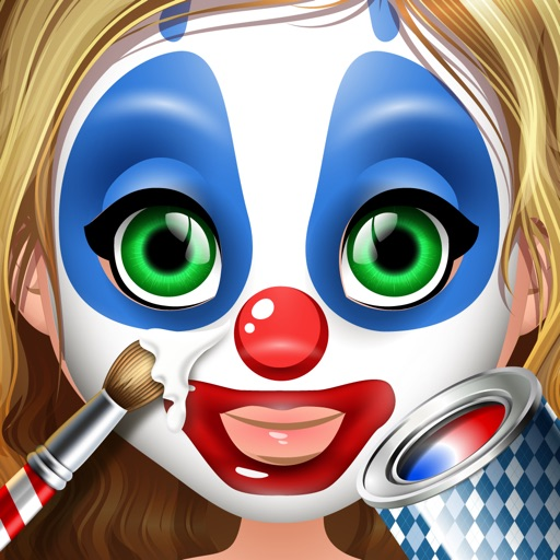 Carnival Face Paint - Kids Salon & Christmas Games