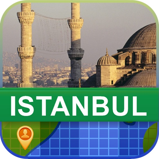 Offline Istanbul, Turkey Map - World Offline Maps