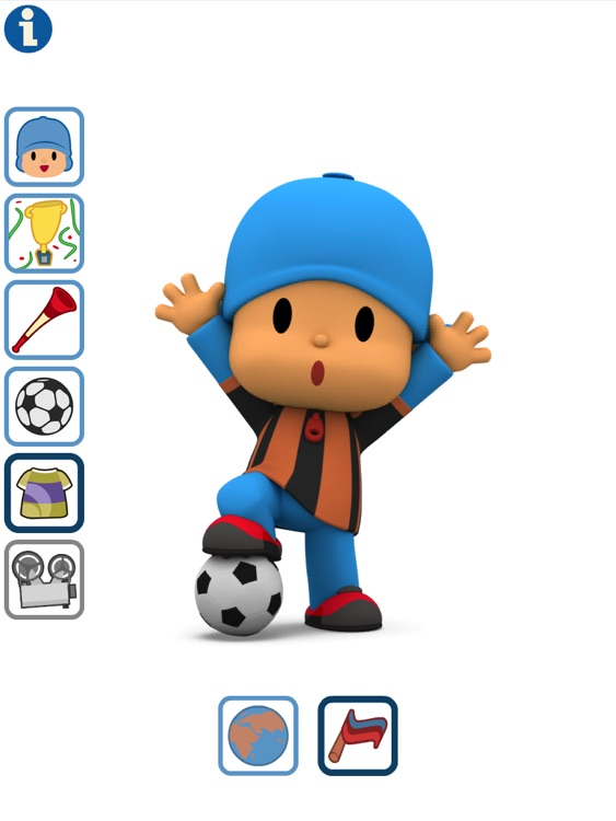 Talking Pocoyo Football HD Free screenshot-4