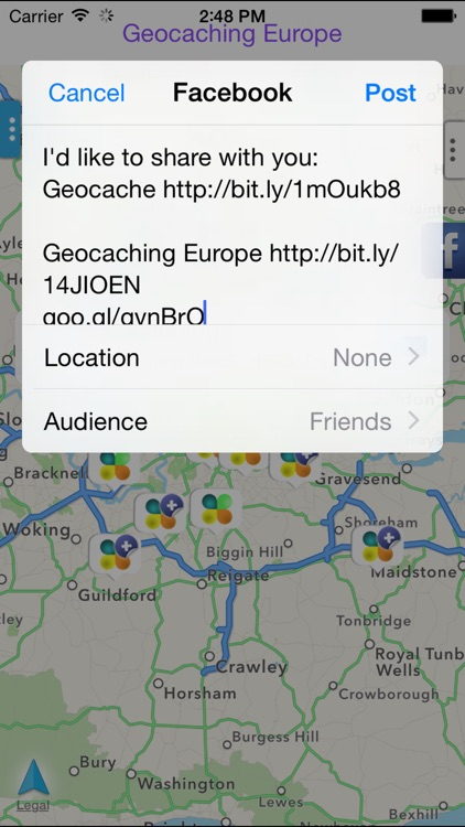 Geocaching Europe screenshot-2