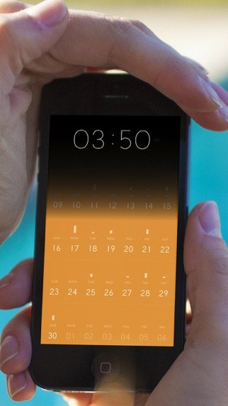 Peek Calendar - Simple y Minimalista