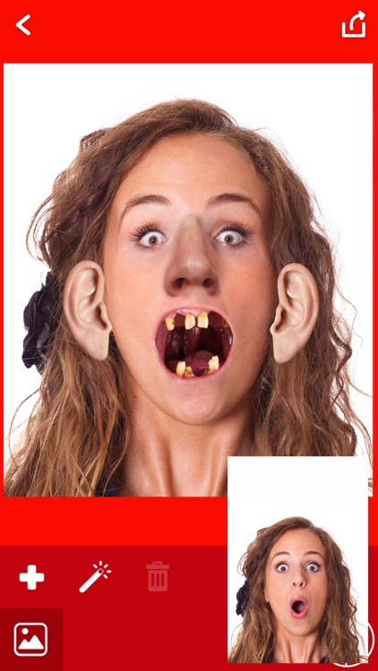Ugly Face Booth – Funny Stickers Photo Montage FX screenshot-4