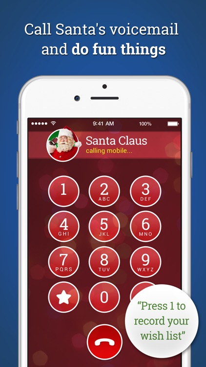 A Call From Santa! Voicemail & Text Messages screenshot-3