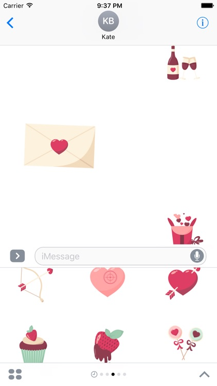 Animated Love Stickers screenshot-2