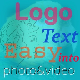 Logo Easy - Put logo or text into photo or video