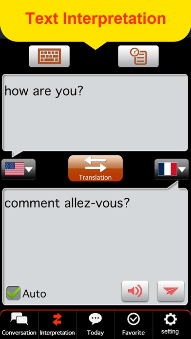 Global interpreter [EUR] screenshot two