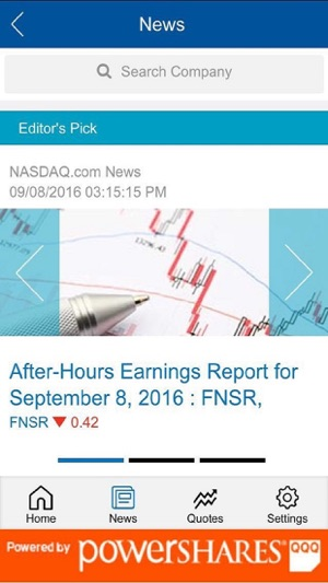 After Hours Quotes | Nasdaq Quotes Im App Store