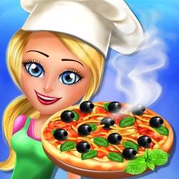 Pizza Maker Shop happy Chef italian Food Cooking PRO
