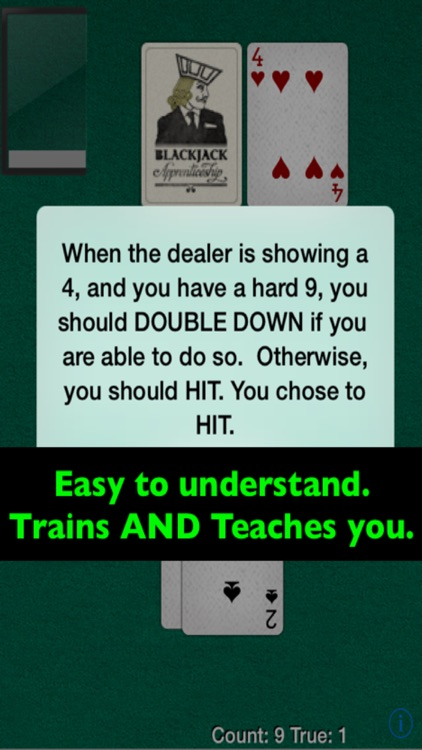 Blackjack Card Counting Trainer Pro screenshot-3