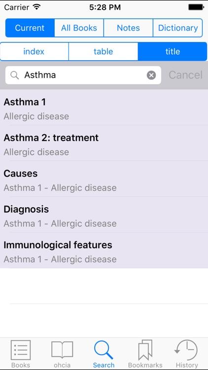 Oxford Handbook of Clinical Immunology & Allerg 3 screenshot-3
