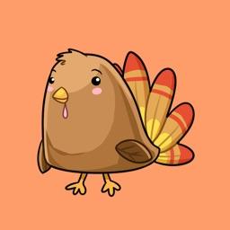CreativeStickrs - Jane's Kawaii Thanksgiving