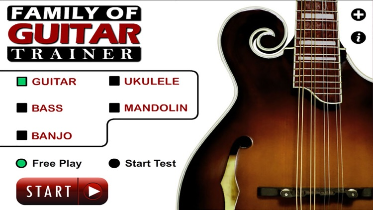 Guitar Family Trainer:Guitar,Bass,Ukulele,Mandolin