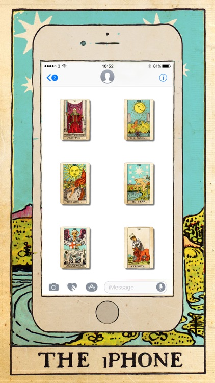 Tarot Card Stickers screenshot-4
