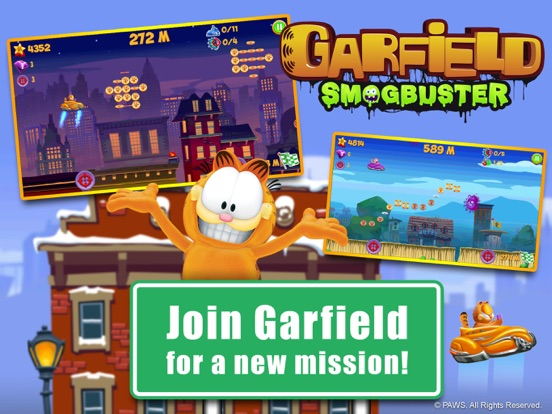 Garfield Smogbuster screenshot 6