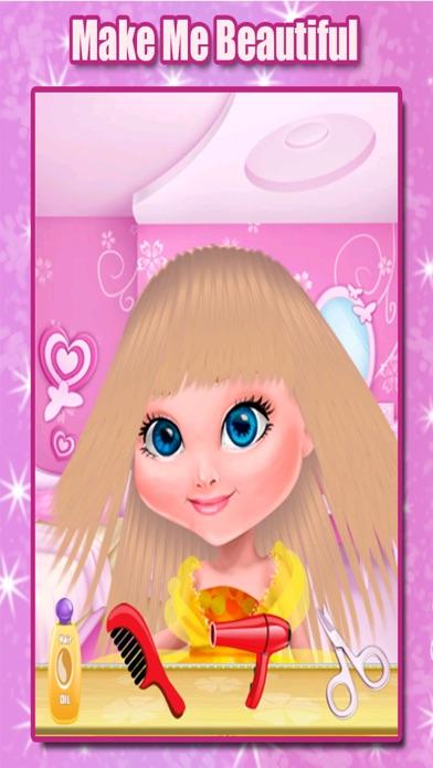 Little Princess Hair Salon - Make Your Own Hair Style For Kids screenshot three