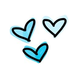 Happy Heart sticker - emoji stickers for iMessage