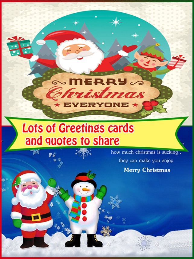 Christmas Greetings Card Maker on the App Store